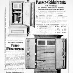 Bode Panzer Tresore Produkt Information um 1930