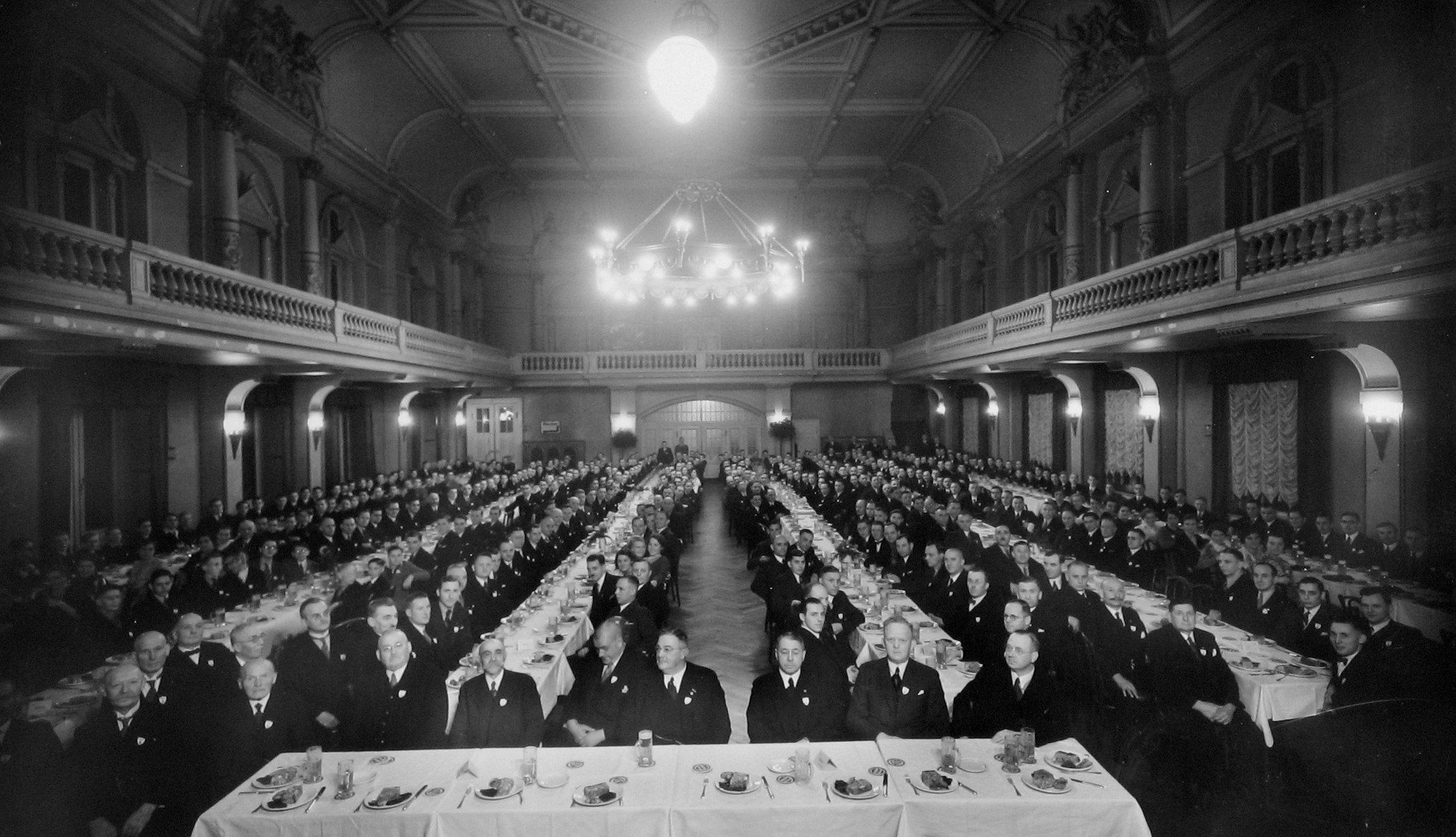 Bode Panzer Betriebsversammlung um 1930